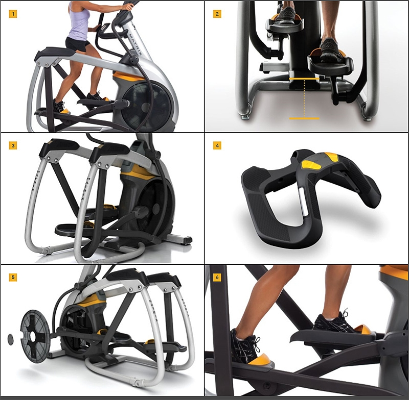 Commercial Gym Equipment Suppliers: E3x Suspension Elliptical