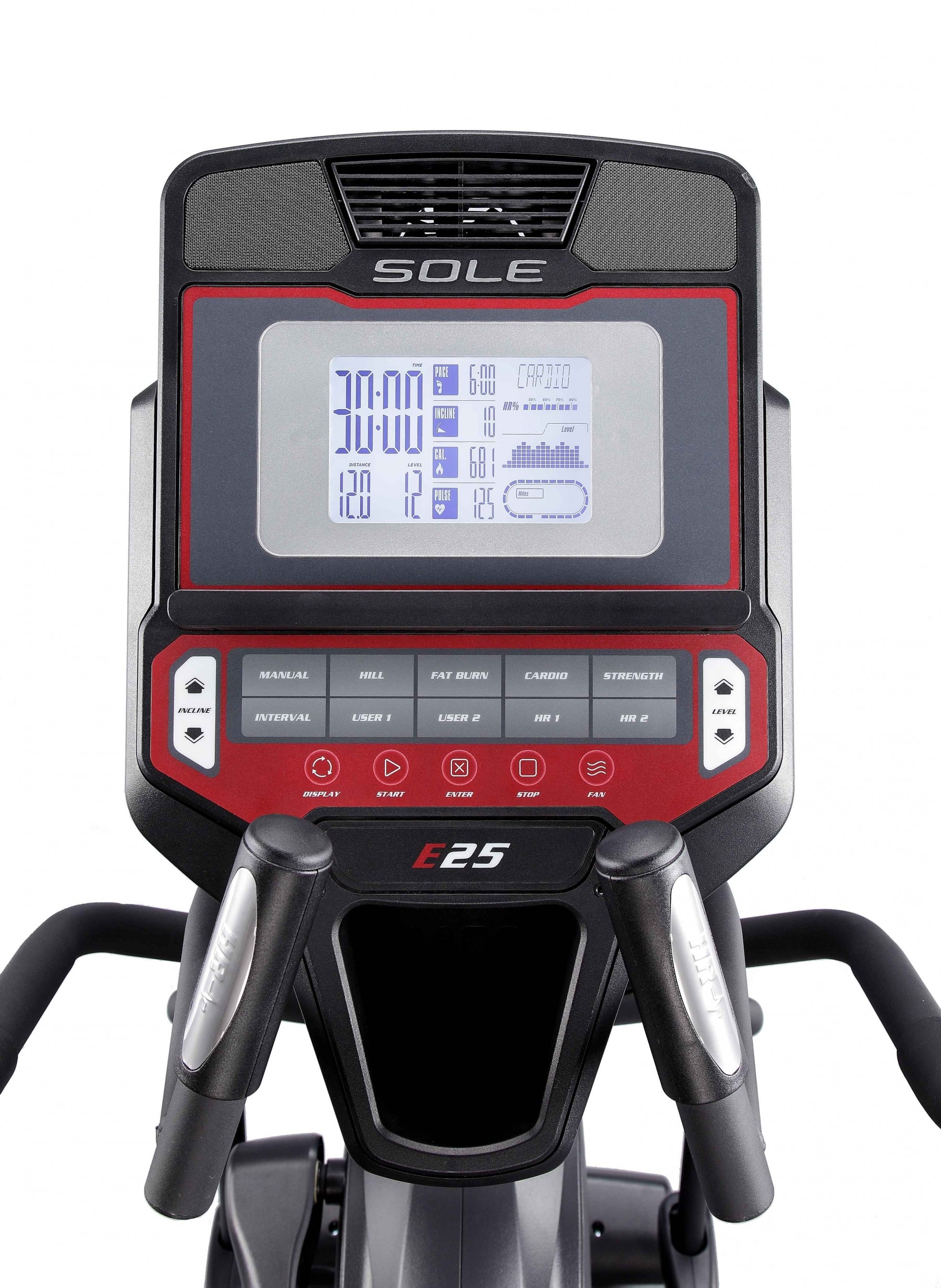 Sole E25 Cross Trainer Console