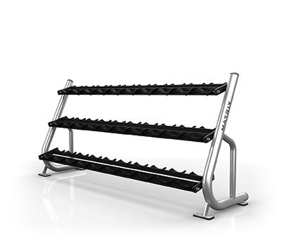 3-tier Dumbbell Rack w/Saddles