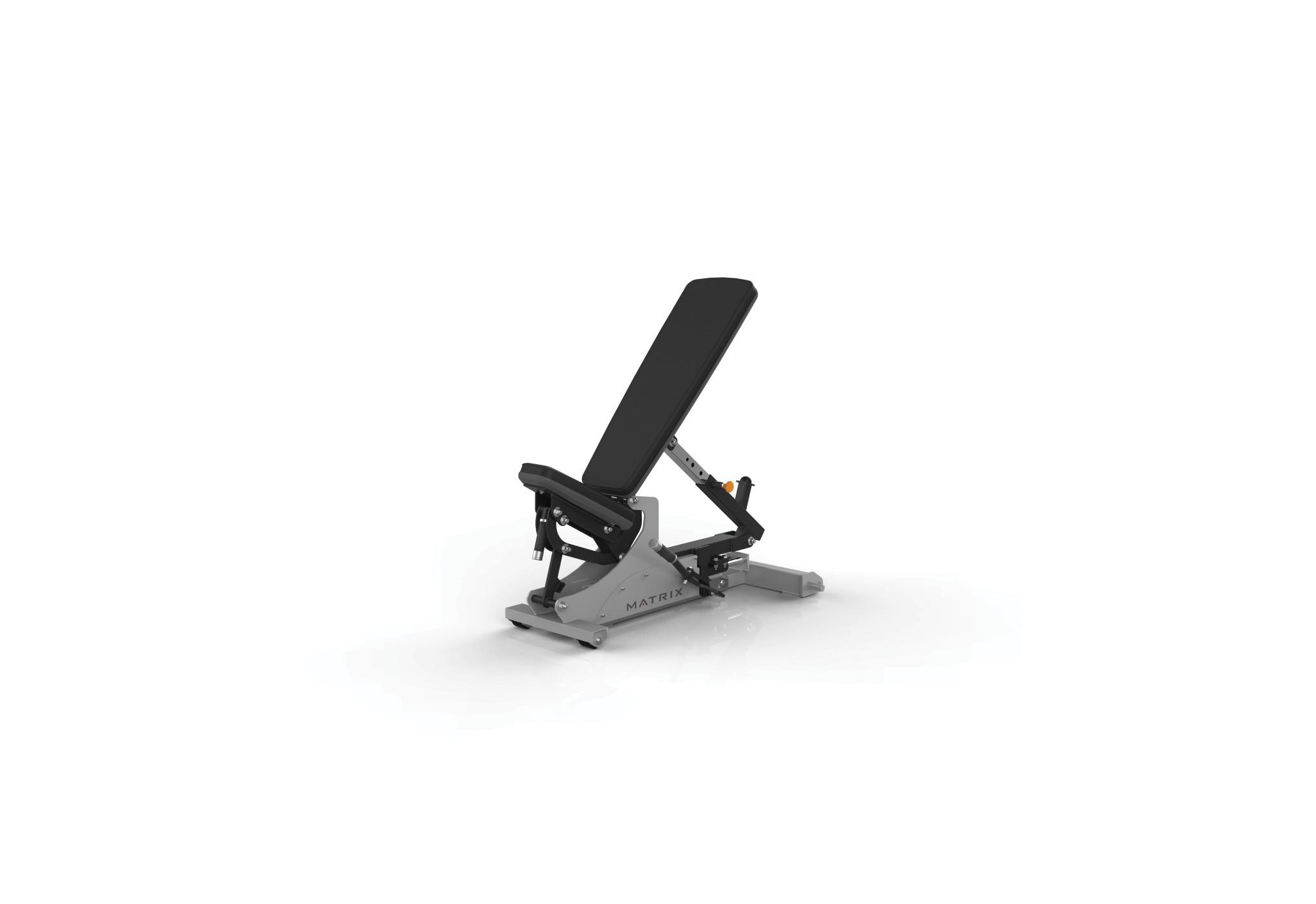 Flat-to-incline Bench w/Horizontal Adjustment