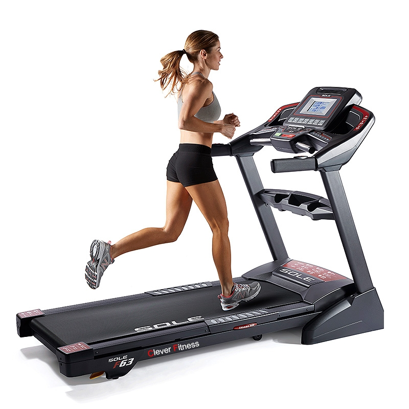 Sole F63 Treadmill Running