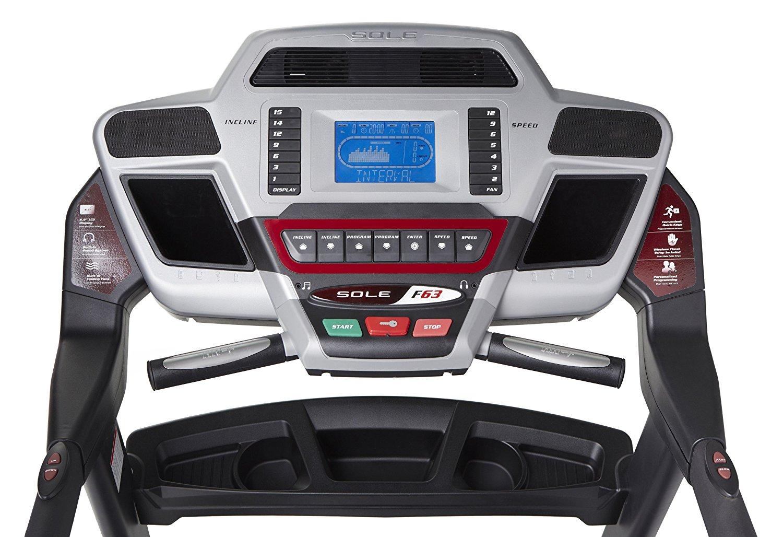 Treadmills Hobart  -Sole F63