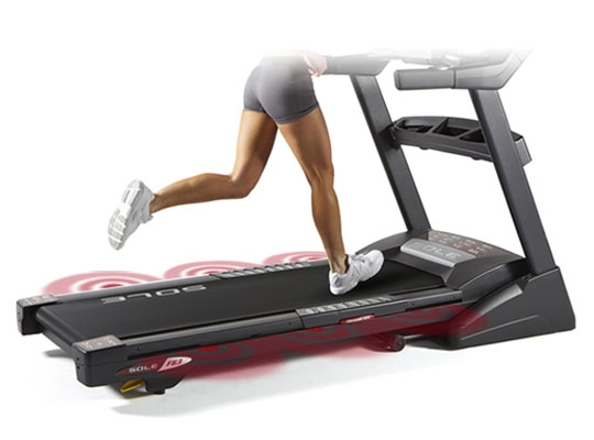 Sole F63 Treadmill Cushioning