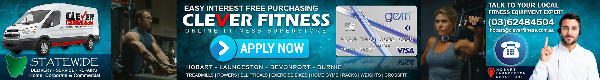 Gym Equipment Interest Free Hobart