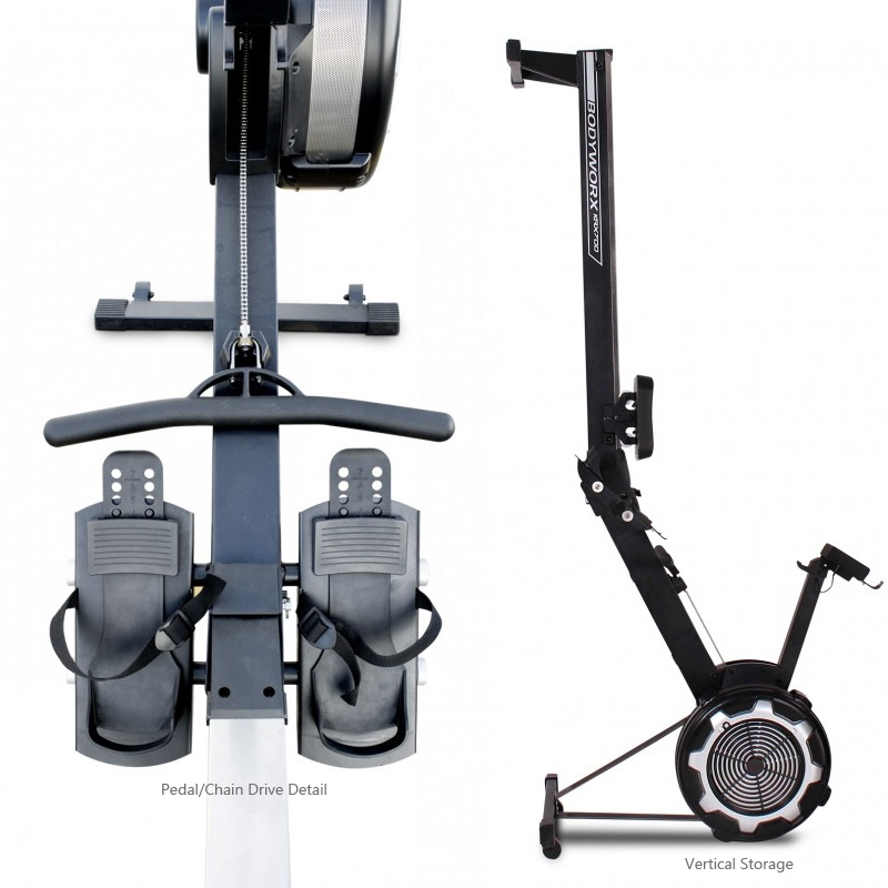 Commercial Rowing Machine Detail