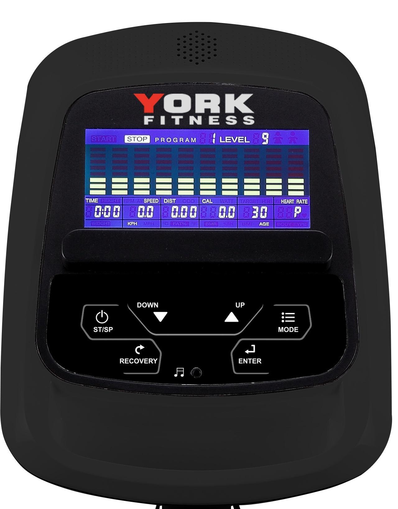 York X515 Cross Trainer Console